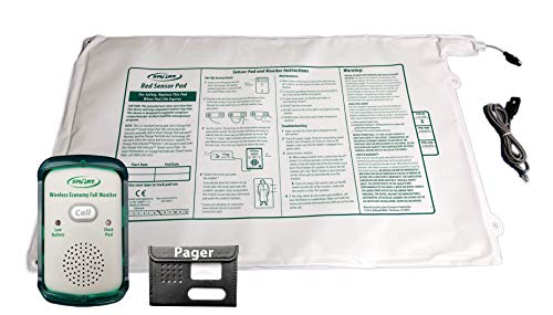 - Smart Caregiver Corporation Wireless Economy Quiet Fall Alert with 20in x 30in Bed Pad and Caregiver Pager