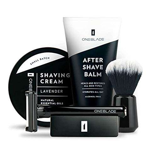 ONEBLADE CORE BLACK TIE SHAVE KIT, CORE Razor, Stand, Shave brush, Shaving...