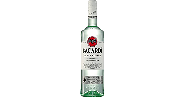 Bacardi – Carta Blanca Superior Rum (1 x 0,7 l)