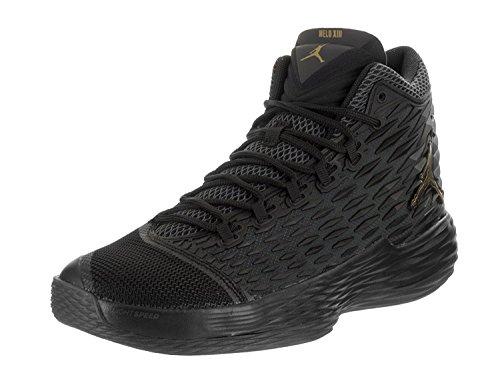 ビン感謝する海嶺Jordan JORDAN MELO M13 Mens basketball-shoes 881562-004_9.5 - BLACK/METALLIC GOLD [並行輸入品]