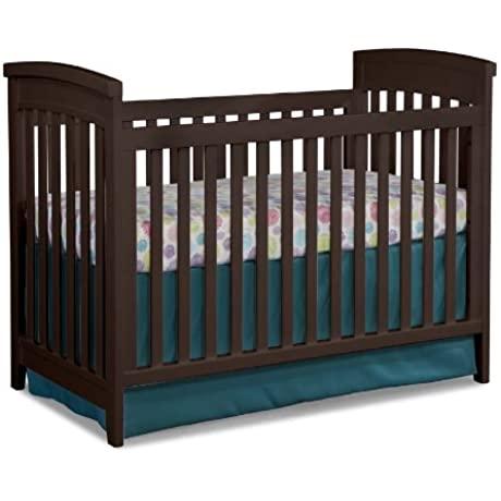 Imagio Baby Midtown 3 In 1 Cottage Crib Chocolate Mist