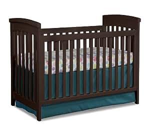 Amazon Com Imagio Baby Midtown 3 In 1 Cottage Crib Chocolate Mist Baby