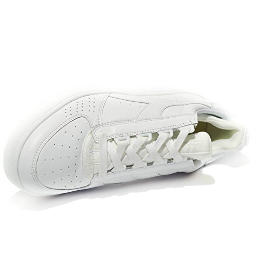 Diadora Heritage, Uomo, B Elite Socks White, Pelle, Sneakers, Bianco, 40.5 EU