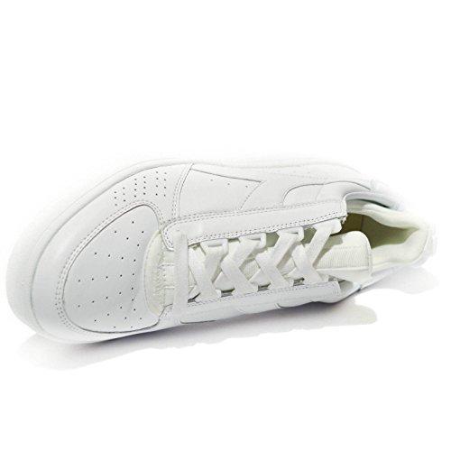 Diadora Heritage, Homme, Chaussettes B Elite Blanc, Cuir, Sneakers, Blanc, 45 Eu