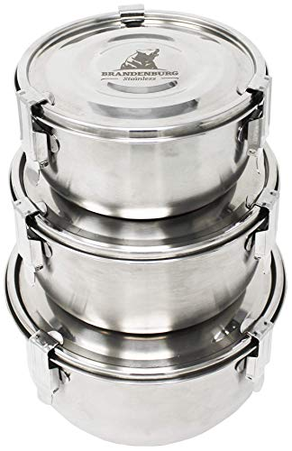 freezer stainless steel container - 1