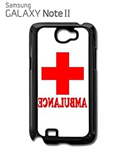 Ambulance Funny Red Cross Mobile Cell Phone Case Samsung Note 2 White