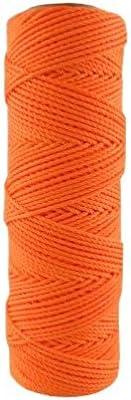 #18 X 275' Orange Nylon Mason Line