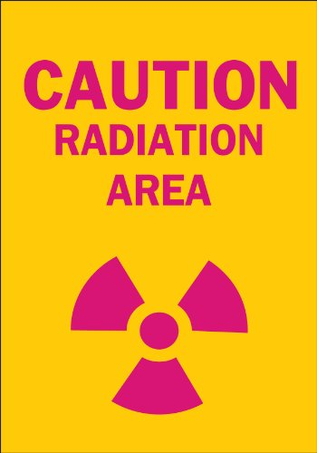 (Brady 25276 Plastic Radiation & Laser Sign, 10