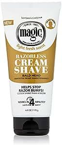 SoftSheen-Carson Magic Razorless Cream Shave - Bald Smooth Head Maintenance, 6 oz