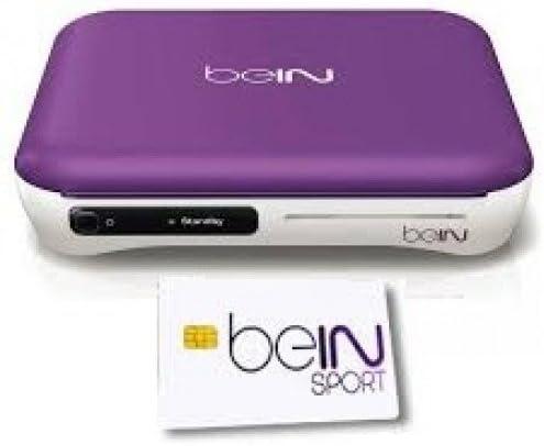 BEin Sports Card + Bein Sports HD Satellite Receiver, [Importado de Reino Unido]: Amazon.es: Electrónica