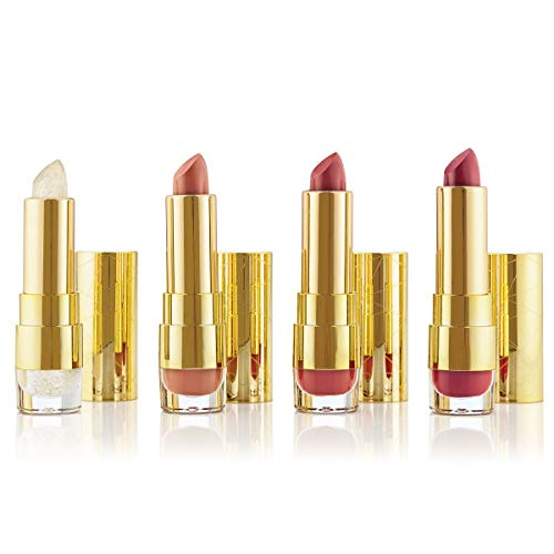 Pür Sweet 16 Kiss Of Confidence Lipstick Trio + Lip Balm Set (Lipstick Little Minerals Kisses)