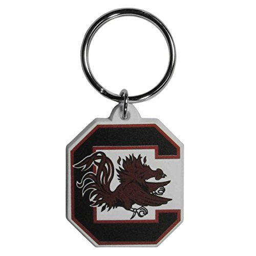 NCAA South Carolina Fighting Gamecocks Flexi Key Chain - South Carolina Fighting Gamecocks Rubber