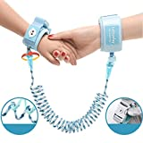 Meharbour Kids Safety Harness Children Leash Wrist Link Anti-Lost Traction Rope Harnesses & Leashes