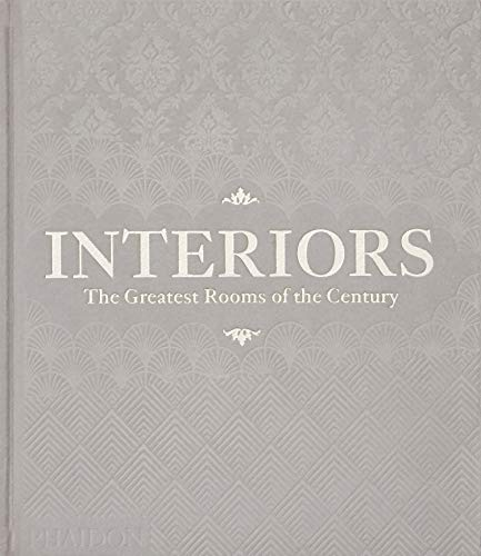 Interiors  -  The Greatest Rooms of the Century (Velvet Cover Color is Platinum Gray, 1 of 4 available colors - see below for more detail)