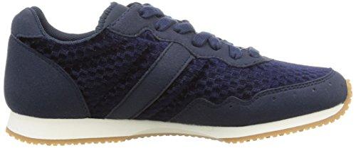 Le Coq Sportif Milos Vintage - Zapatillas de Deporte de lona mujer azul - Bleu (Dress Blue)