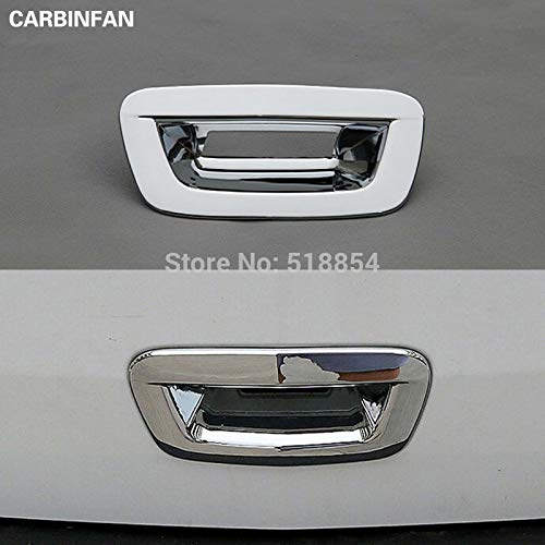 - Exterior Parts Fit For 2013 2014 2015 2016 Chevrolet Trax Tracker Chrome Rear Trunk Boot Door Lid Cover Garnish Trim Tailgate Strip Accessories