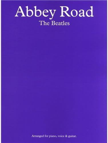 The Beatles: Abbey Road. Partituras para Piano, Voz y Guitarra ...