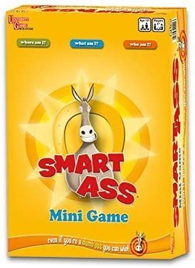 Smart Ass Game Travel Tin