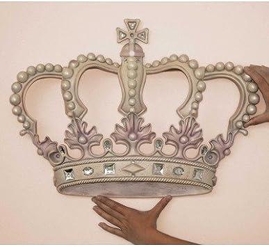 3D Princess Crown Wall Art Decor  from images-na.ssl-images-amazon.com