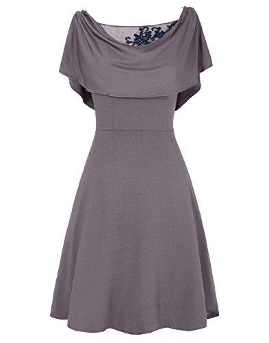 A de Dresstells courte robe de ligne Raisin mre marie adxqz