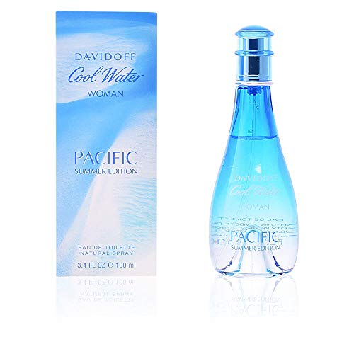 Zino Davidoff Cool Water Pacific for Women Summer Edition Eau de Toilette Spray, 3.4 Ounce