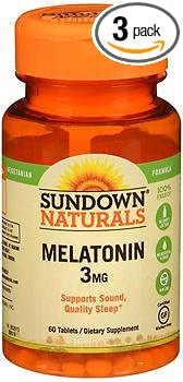 Image Unavailable. Image not available for. Color: Sundown Naturals Melatonin ...