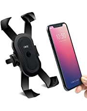 Bike Phone Mount, CMQC Anti Shake 360° Rotation Bicycle Motorcycle Cell Phone Holder, Universal Silicone Anti-Slip Handlebar Stand Fits iPhone, Android, Samsung Series Smartphone All 2.2-3.4 Devices