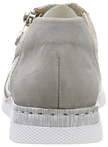 Rieker Dame N5320 Sneaker Grå (cement / Staub / Frost / Grå / Tåge) D2Z54qMd