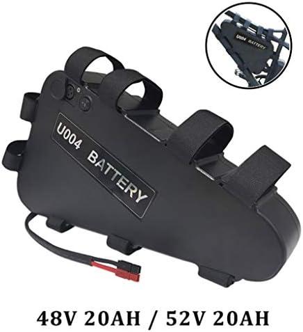 USBとのトライアングルフレーム電動自転車バッテリー、スーパー容量ロングレンジ仕事、BMS保護委員会と48V大容量バッテリーEbike,48V12AH