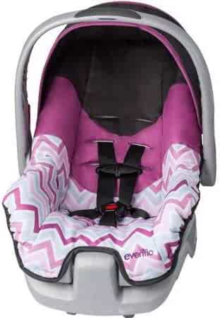 Evenflo Nurture Infant Car Seat, Britnay