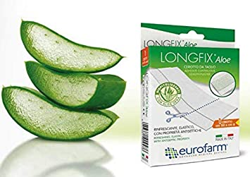 """New LongFix Aloe: 20"""" x 2 1/3"""" Continuous Adhesive Plaster in"""