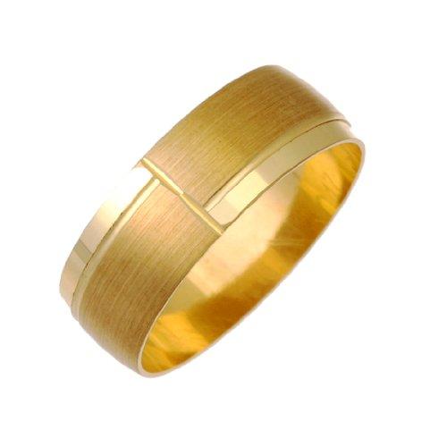 Berker Bros - LDNC17 - 7 09Y2/R - Alliance Homme - Or jaune (9 carats) 2.79 Gr