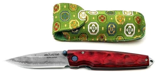 エムカスタ MCUSTA MC-0078D 007槌(つち) ハンドル:9cm、スタミナウッド、ブレード:7cm、ダマスカス(芯金VG-10、ニッケル&ステンレス32積層鋼) B013ZKMYPK
