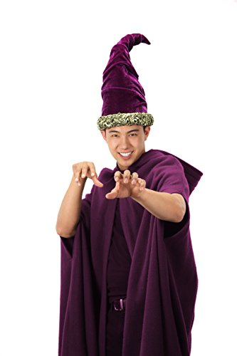 Elope Fancy Purple Wizard Hat]()