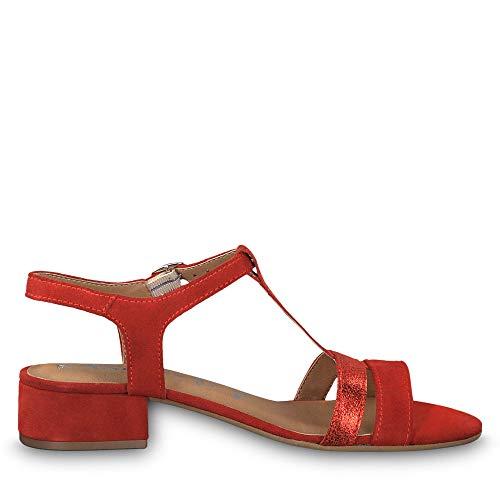 lipstick Rojo Sandalia 515 Para Pulsera 22 1 Con 28119 Tamaris 1 Mujer wMKq7T4v6A