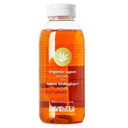 DAVIDs TEA - Organic Natural Agave Bottle