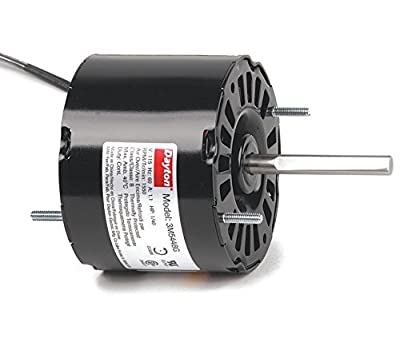 "1/40HP, 1550RPM, 115 Volt, 3.3"" diameter Dayton Electric Motor Model 3M544"