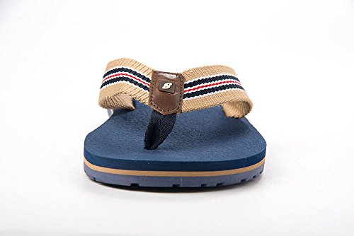 Slip Sandals On Everyday Vacation Flip Striped Travel Beige Speed Just Summer Strap Slides Classy Blue Fashion Dressy Fancy Flops Mens FwR6qIY