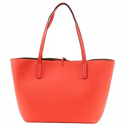 Red Tote Womens Reversible Leather Bobbi Faux Guess Handbag Large xgd0qw0p