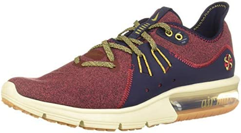 Nike Brown Air Max Sequent 3 Prm Vst Sneaker for men