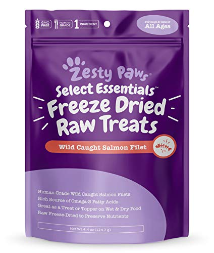 cat treats freeze dried salmon - 4