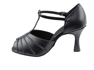 Ladies Women Ballroom Dance Shoes Very Fine EKSA2901 SERA 3 Heel with Heel Protectors