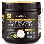 Nutiva Organic MCT Powder Vanilla, 300 Grams