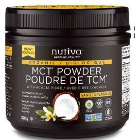 Nutiva Organic MCT Powder Vanilla, 300 Grams for sale  Delivered anywhere in Canada