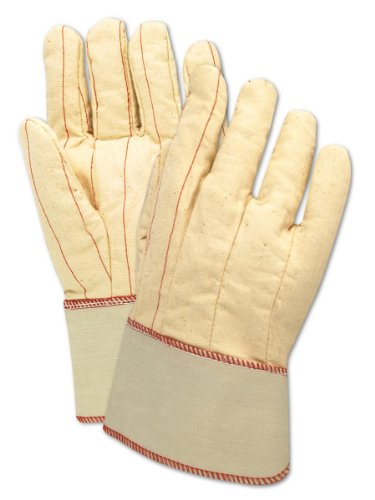 Poly Cotton Canvas Gloves - Magid 794JSC MultiMaster Cotton/Poly Double Palm Canvas Glove with 2-1/2
