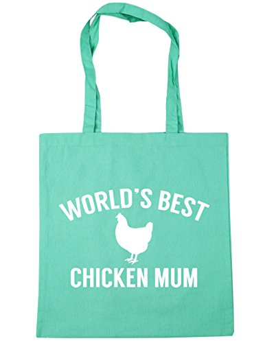 Mint 10 World's mum HippoWarehouse Shopping 42cm Beach Gym Tote best litres x38cm Bag chicken SxwPCPqRO