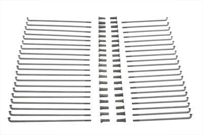V-Twin 45-0707 Stainless Steel 19'' Spoke Set