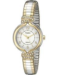 Timex Womens TW2P612009J Main Street Collection Analog Display Quartz Two Tone Watch