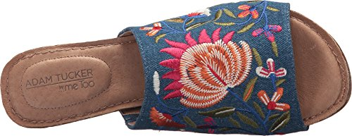 sale amazing price discount hot sale Me Too Womens nella Blue Floral Embroidered Denim ewohakbL