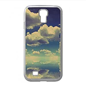 Clouds Over Water Watercolor style Cover Samsung Galaxy S4 I9500 Case (Sun & Sky Watercolor style Cover Samsung Galaxy S4 I9500 Case)